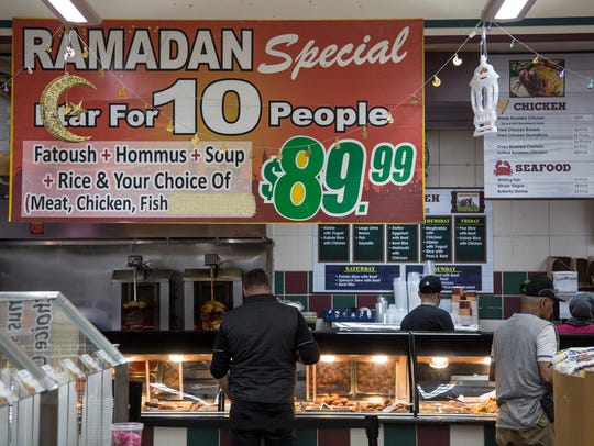 A Ramadan special deal to feed at least 10 people is