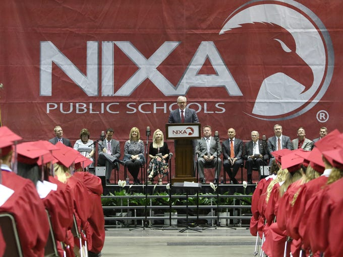 Nixa High School's Class of 2018 Commencement ceremonies