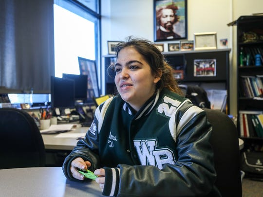 Ilona Losey, a student at West Bloomfield High School talks about the new mental health program at West Bloomfield High School.