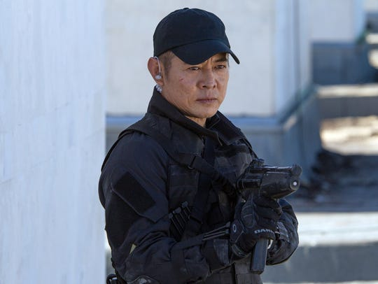 "Jet Li as ""Yin Yang"" in a scene from 2014's ""The Expendables"