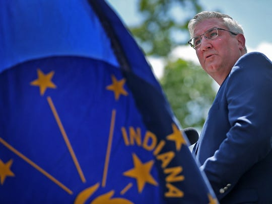 Gov. Eric Holcomb wants to spend $100 million in state money on rural broadband projects across Indiana.
