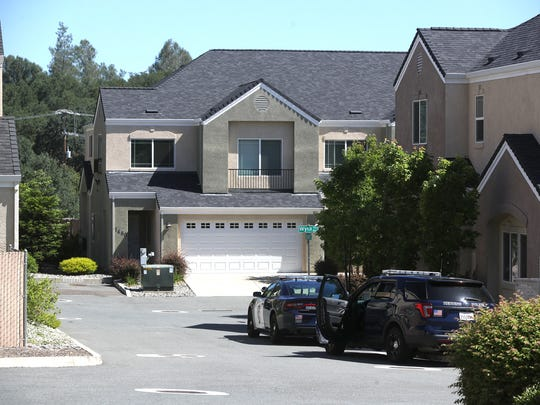 Redding police in May go to the neighborhood where an IASCO student was the alleged victim of an attempted kidnapping May 25 by two employees of the school.