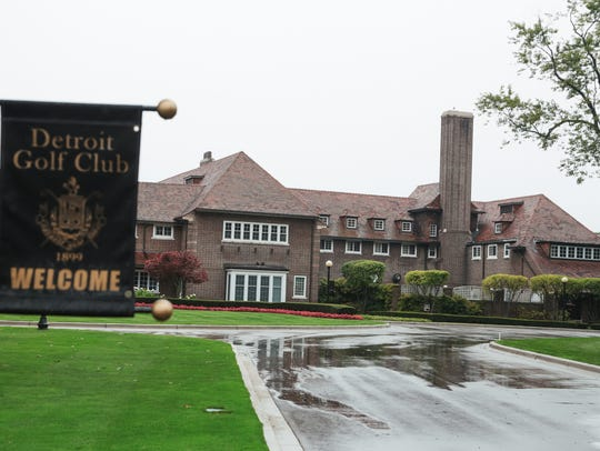The Detroit Golf Club in Detroit is seen on Monday