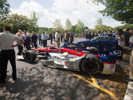 The 2018 Chevrolet Detroit Grand Prix presented by Lear held a media availability with some team drivers and Roger Penske at the Detroit Yacht Club on Belle Isle Thursday, May 31, 2018.