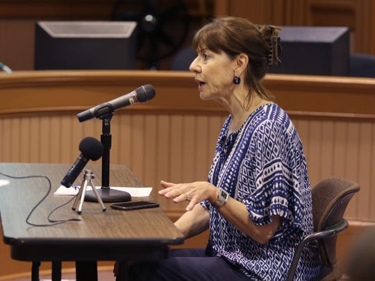 Mary Frankiewicz, of Ixonia, who lives next to Tag Lane Dairy, LLC, shared concerns regarding the concentrated animal feeding operation (CAFO) during a public hearing held on May 31, by the Wisconsin Department of Natural Resources on the Wisconsin Pollutant Discharge Elimination System permit for the farm.
