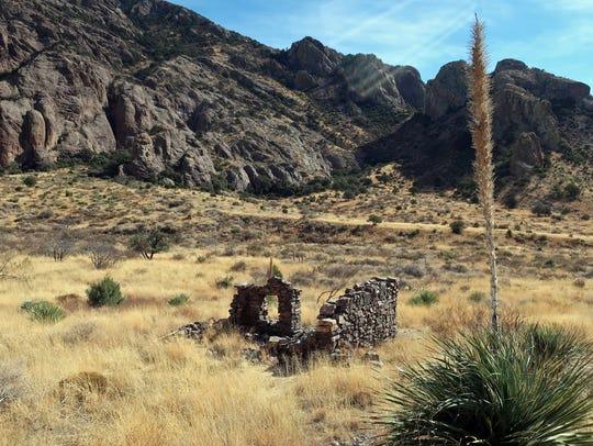 Rock house at Soledad Canyon.