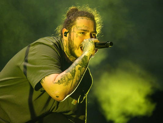 Post Malone at Farm Bureau Insurance Lawn at White River State Park