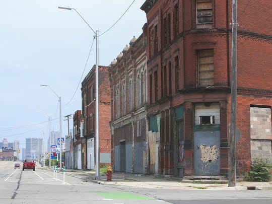 Detroit's Corktown neighborhood sits just west of downtown