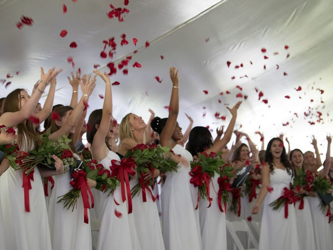 School of the Holy Child in Rye graduated 57 women