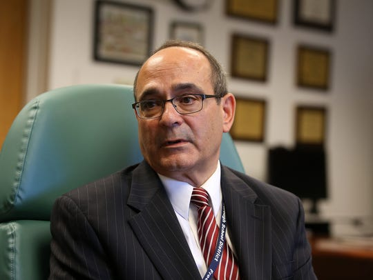 Freehold Borough schools Superintendent Rocco Tomazic