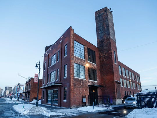 A historic building in Corktown known as the Factory
