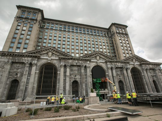 Ford is renovating Detroit's long-empty train depot.