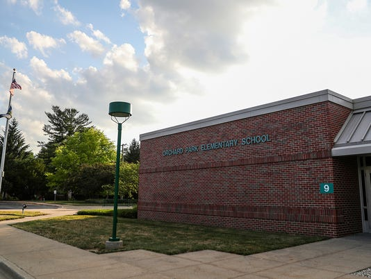 Orchard Park Elementary in Home Place neighborhood in Carmel, Ind.