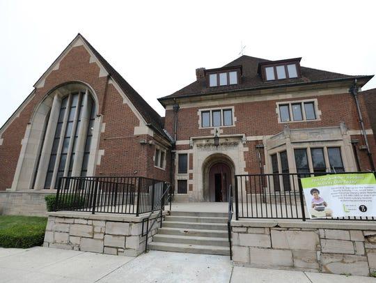 Parkman Branch, a Detroit Public Library on Oakman