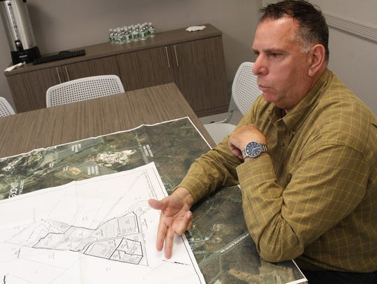 Vito Cardinale goes over his plans Thursday, June 22,