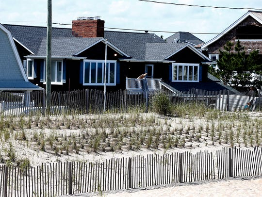 This home at 312 East Avenue in Bay Head, shown Tuesday,