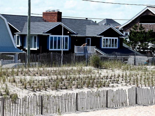 This home at 312 East Avenue in Bay Head, shown Tuesday, June 26, 2018, has reportedly been recently purchased by former NJ Governor Chris Christie.