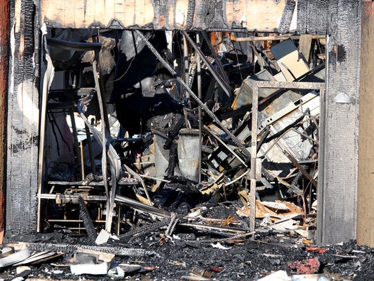 The investigation into an overnight fire at the Ocean