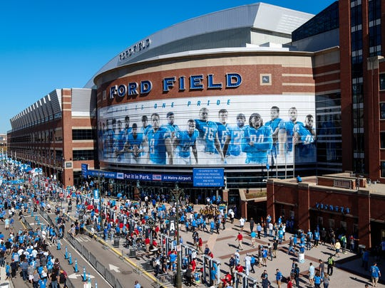 Ford Field could host the NCAA men's basketball Final Four in 2023-26.