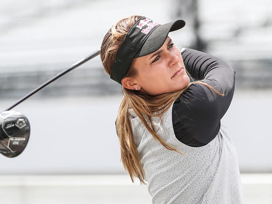 Lexi Thompson previews the LPGA Indy Women in Tech Championship at Brickyard Crossing Golf Course at Indianapolis Motor Speedway
