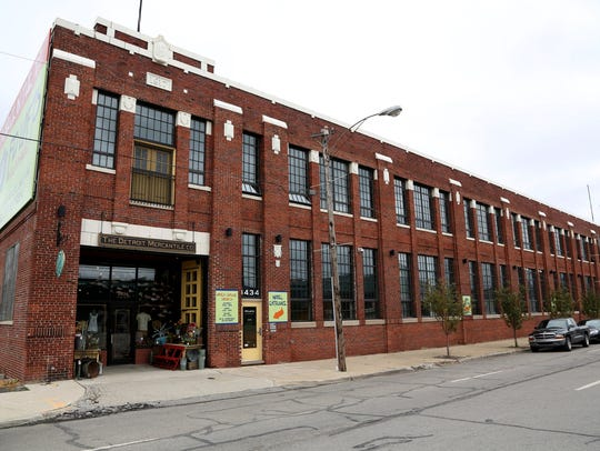 An exterior view of Robert Stanzler's Detroit Mercantile