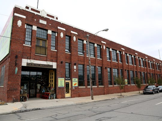 An exterior view of Robert Stanzler's Detroit Mercantile Co. in Detroit near Eastern Market on Wednesday, July 23, 2014.