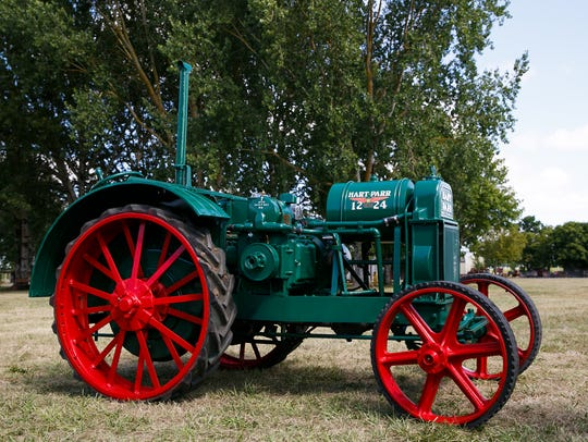 Tim Dezotell's 1930s Hart-Parr Tractor at Powerland