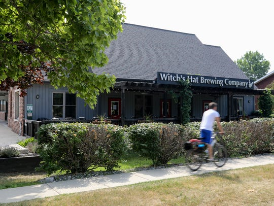 The Witch's Hat Brewery in South Lyon on Tuesday, July