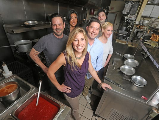 Local contestants from the Fox reality show Hell's Kitchen m