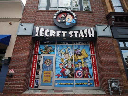 Jay and Silent Bob's Secret Stash in Red Bank.