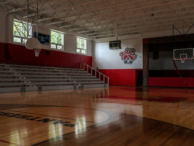 The facility that once housed Laurel High School, which