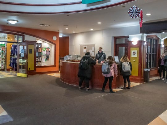 Interior of the Kellogg Center at Albion College.