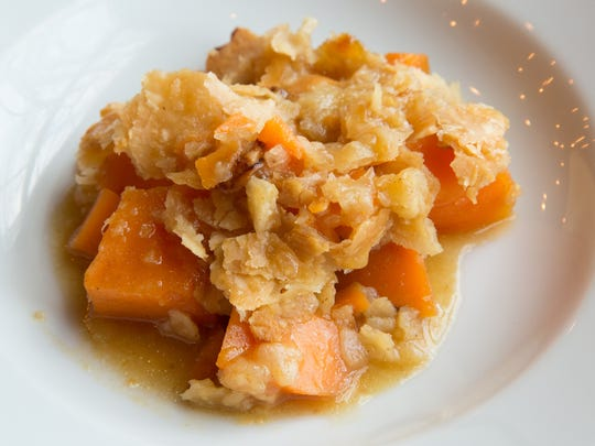 A Sweet Potato Cobbler recipe from Valarie Preyer,