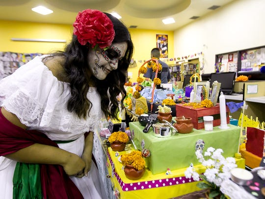 CVHS junior Vanessa Paz Ramirez looks at her school