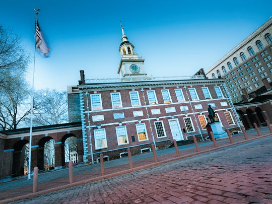 Independence Hall is where the Declaration of Independence and Constitution were signed.