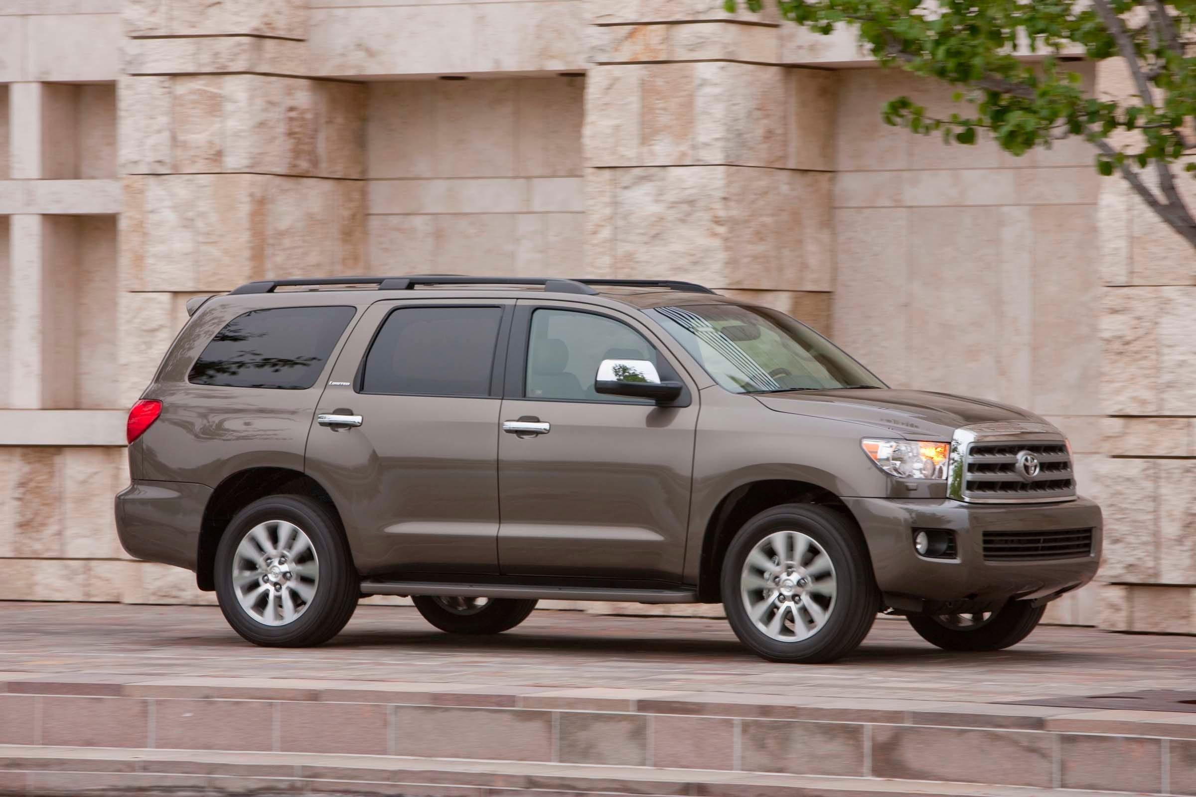 25. Toyota SequoiaÊfour Door 4WD Annual Average Insurance