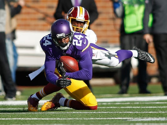 USP NFL: WASHINGTON REDSKINS AT MINNESOTA VIKINGS S FBN USA MN