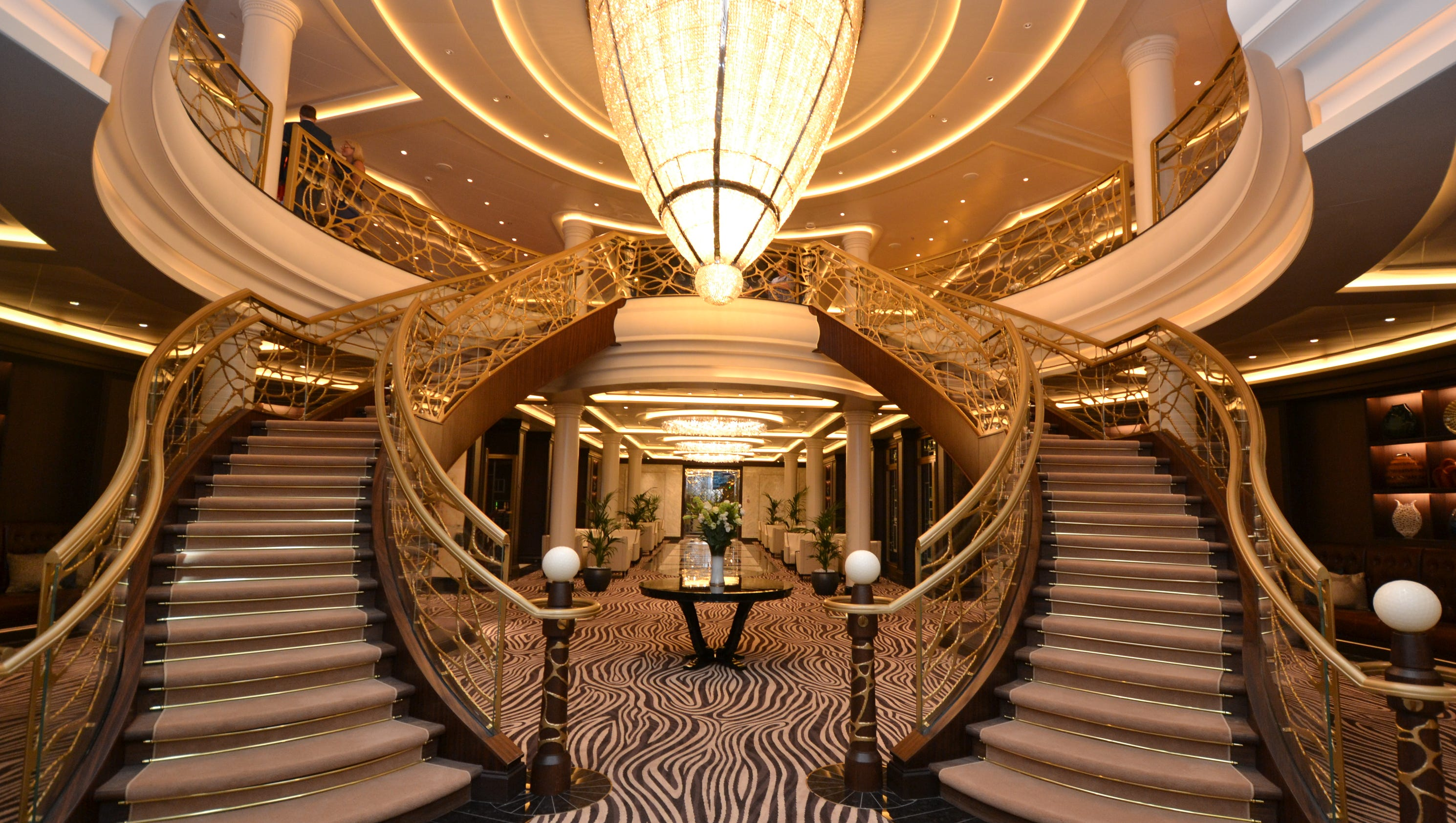 First Look: Inside The 'most Luxurious Cruise Ship Ever