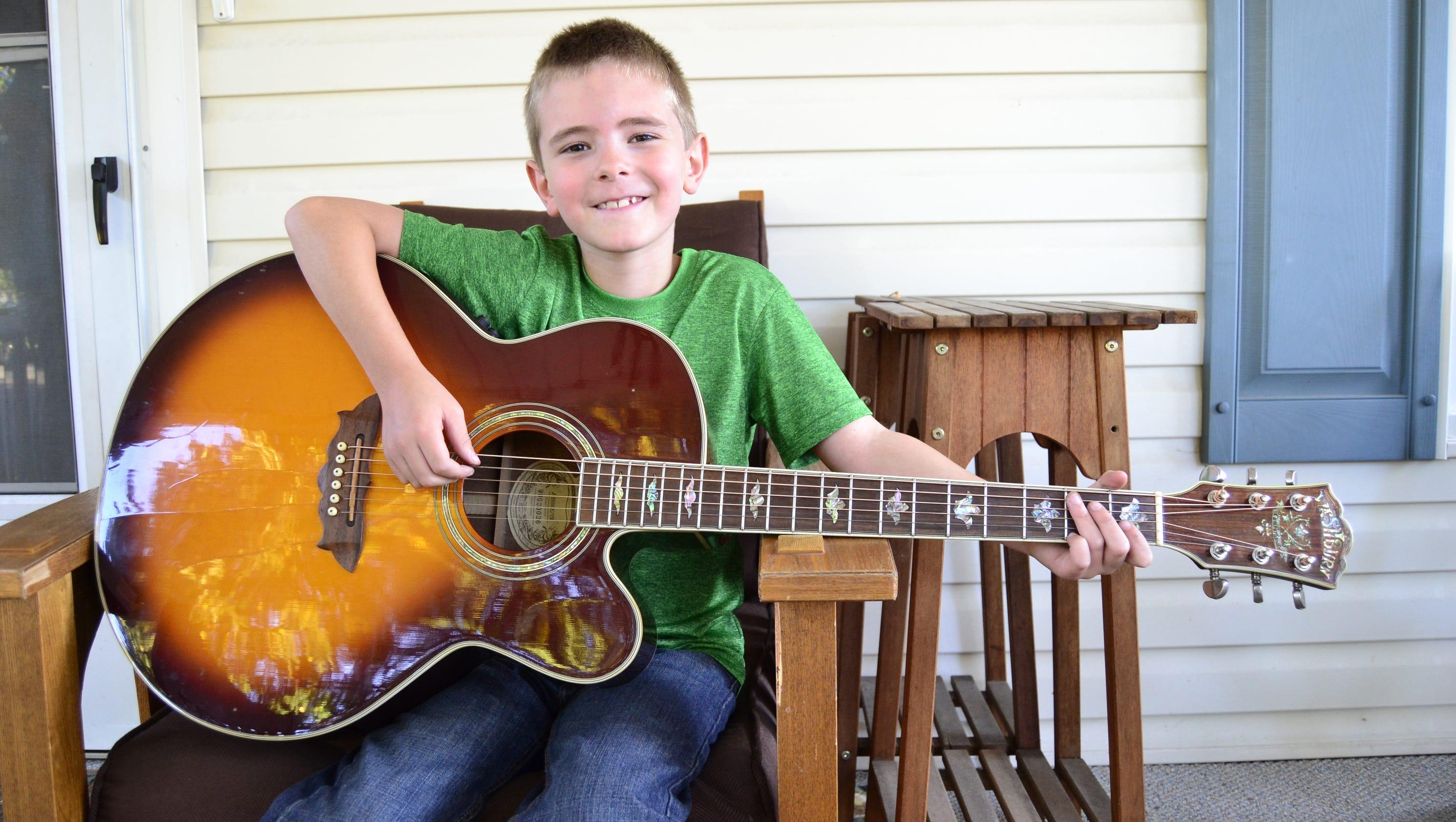 Guitar For 5 Year Old : guitar talent opens doors for endicott 7 year old ~ Russianpoet.info Haus und Dekorationen