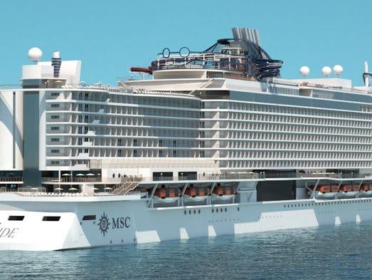 New Cruise Ships For 2017 Msc Seaside