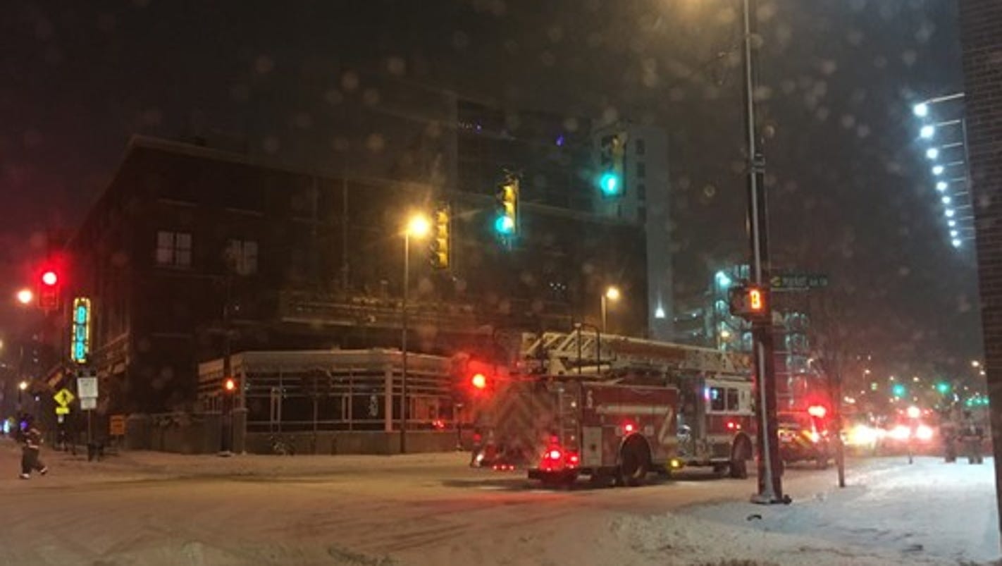 Boiler explosion blows out windows at Grand Rapids steam plant