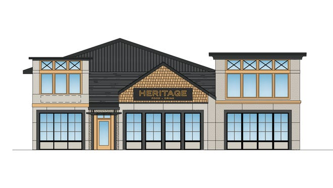 A rendering by R.L. Baxter Building Corporation of what Heritage Food + Drink will look like in the Town of Wappinger.