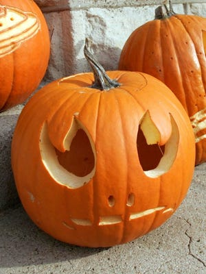 Kids can decorate pumpkins at Mill Road Library this week.
