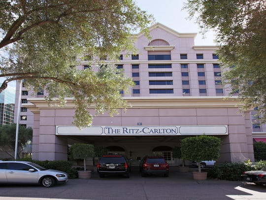 The Ritz Carlton at Camelback Road and 24th Street