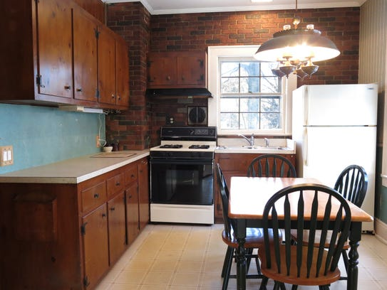 There's potential for adding value to the home by updating the kitchen.