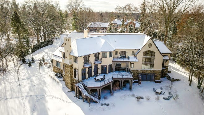 Jim Caldwell's home in Franklin, Mich. is listed for $2.499 million.