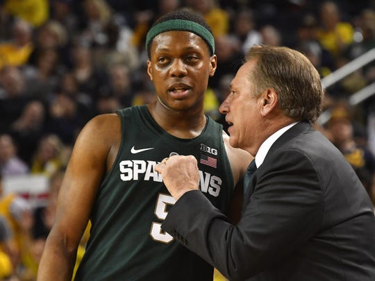 """MSU freshman point guard Cassius Winston says of the Spartans, """"It's gonna be scary next year."""""""
