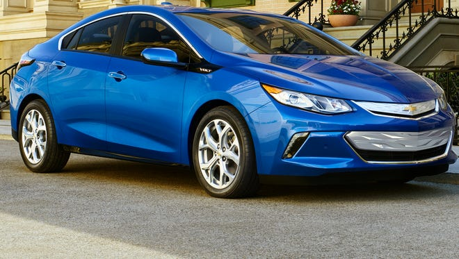 The 2016 Chevrolet Volt  is a plug-in hybrid