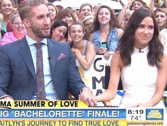 Good Morning America Stories Today : Bachelorette kaitlyn fiancé give first interview