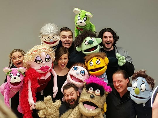 "Cincinnati Landmark Productions will present the District Series production of ""Avenue Q"" at The Warsaw Federal Incline Theater, Feb. 17-March 6."